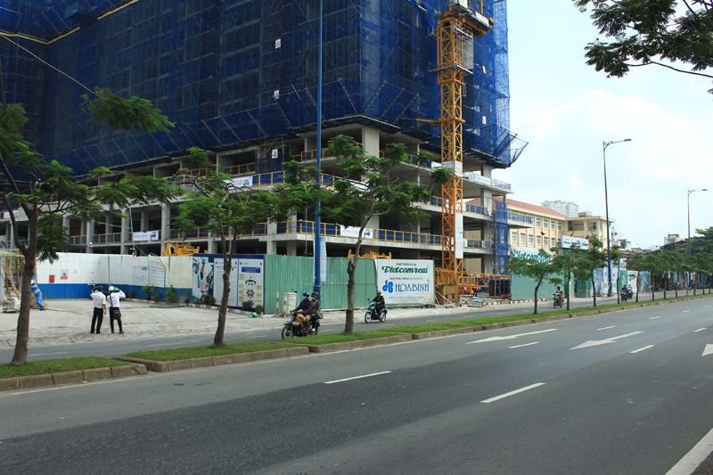 Tiến độ xây dựng căn hộ Viva Riverside tháng 10/2017