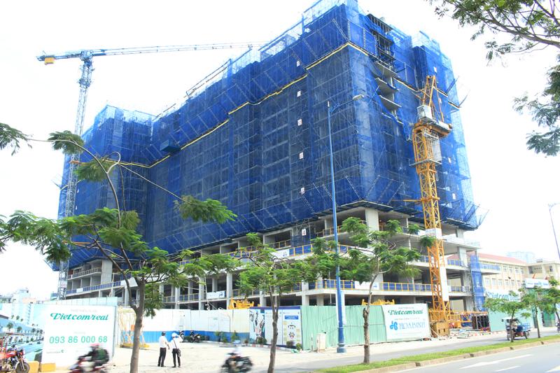 Tiến độ xây dựng căn hộ ViVa Riverside Quận 6