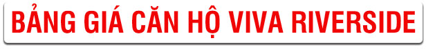 bảng giá căn hộ viva quận 6