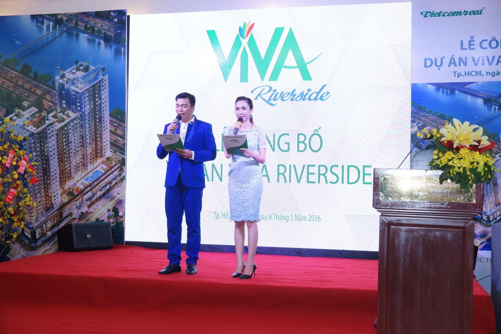 Vietcomreal công bố dự án ViVa riverside Quận 6