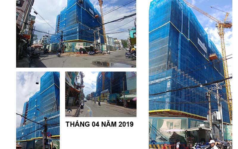 tiến độ xây dựng căn hộ vnetosa quận 5