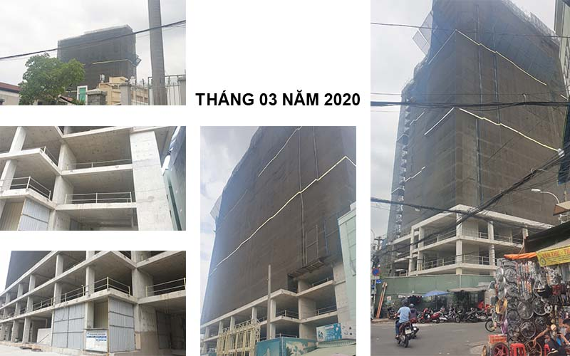 tiến độ xây dựng dự án ventosa quận 5