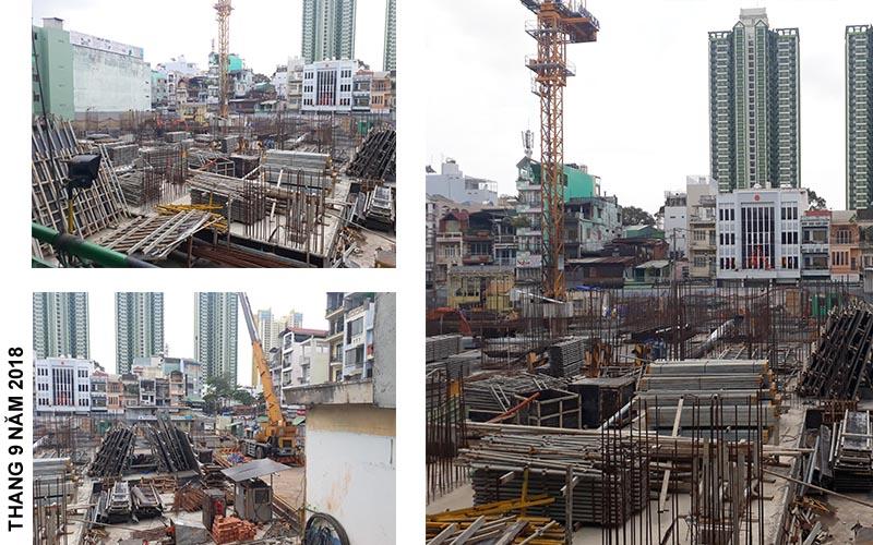 tiến độ xây dựng dự án căn hộ ventosa quận 5