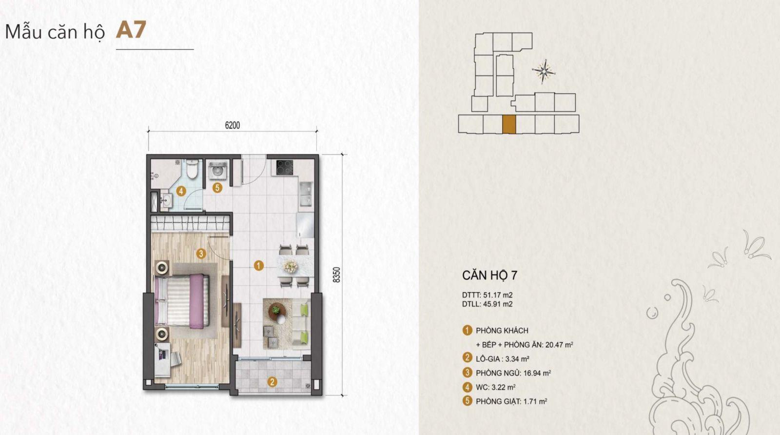 thiết kế căn hộ venus tân thành quận 5