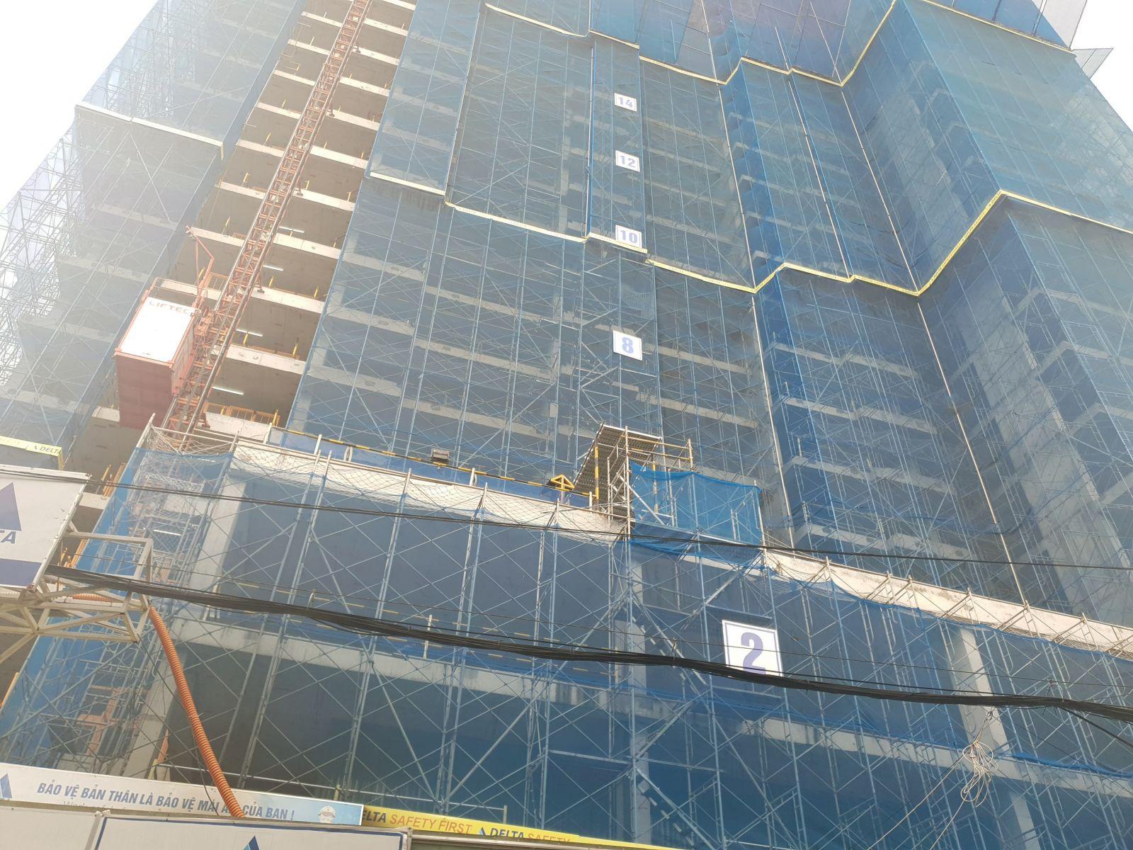 tiến độ xây dựng căn hô 66 tân thành đỗ ngọc thạnh